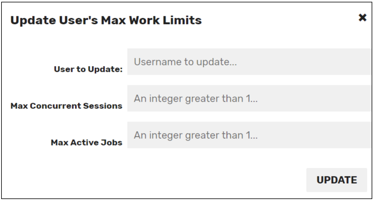 Release Notes max work limits