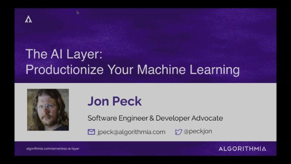 Productionize Your Machine Learning